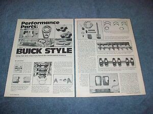 Bell Buick Parts by 1986 Kenne Bell Performance Buick Parts Vintage Info
