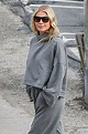 Gwyneth Paltrow in Grey Sweats - Out in Brentwood 01/13 ...