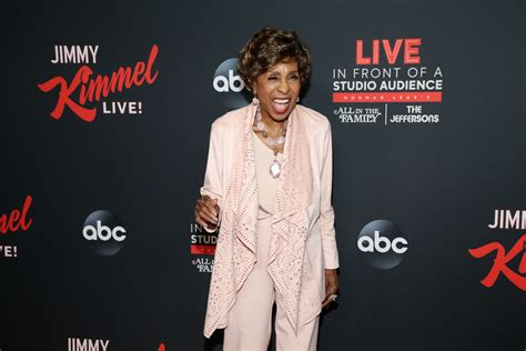Marla Gibbs from 'The Jeffersons' Steps out for Date Night ...