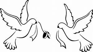 Love Birds Wedding Bands Clip Art at Clker.com - vector ...