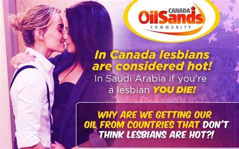 Hot Lesbians Canadian Oil Sands Ad Gets Major Backlash