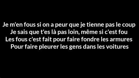 Si T'étais Là ( Paroles / Lyrics )