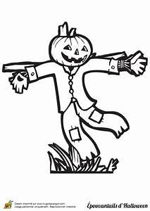 Dessin Facile Halloween : coloriage epouvantail halloween facile sur ~ Melissatoandfro.com Idées de Décoration