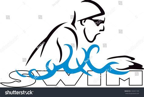 swimming breaststroke clipart swim breaststroke stock vector 163451105