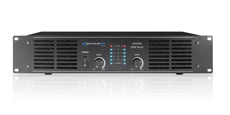 2000w Dj Professional Home Audio Digital Stereo 2 Channel