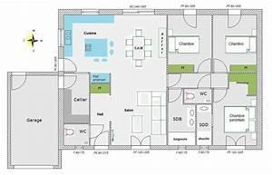avis sur mon plan 95 m2 plein pied 84 messages With good plan de maison 150m2 4 maison plain pied 150m2 26 messages