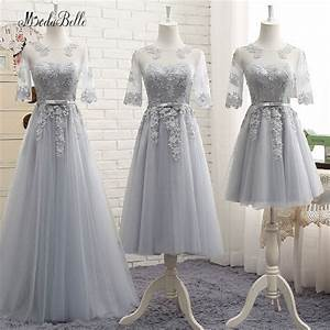 modabelle modest lace bridesmaid dresses sleeves gray With gray dresses for wedding guests