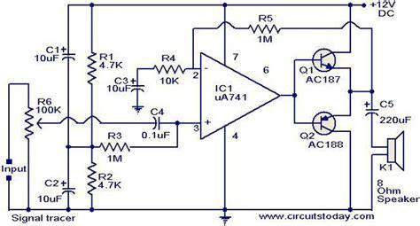 signal tracer circuit electronic circuits  diagrams