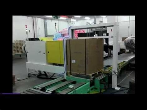 automatic pallet strapping machine youtube