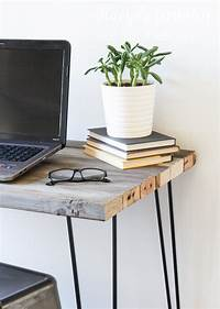 reclaimed wood desk Reclaimed Wood Desk | Not JUST A Housewife