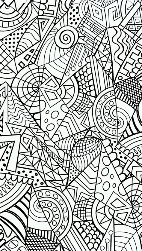 abstract coloring pages ideas  pinterest