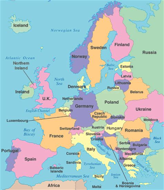map of modern europe modern europe travel log