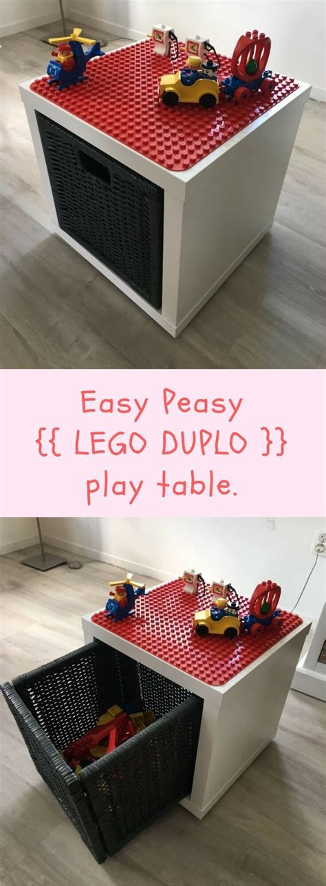 Ikea Hack Kinderzimmer Lego by Lego Duplo Play And Store Box Ikea Hacks For