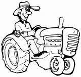 Farmer Tracteur Coloring Dessin Printable Farm Jobs Ausmalbilder Bauernhof Facile Coloriage Imprimer Animal Template Vache Theme Dementia Konabeun Agricole Colouring sketch template