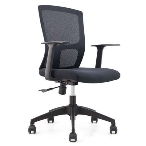 cheap black mesh staff office chair base swivel