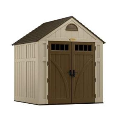 Suncast Sheds Home Depot by Suncast Brookland 7 Ft 6 In X 7 Ft 2 In Resin Storage