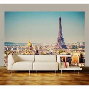 Poster Mural 3d : ideal decor 100 in x 144 in paris wall mural dm950 the home depot ~ Teatrodelosmanantiales.com Idées de Décoration