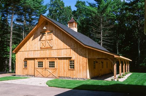 Valley And Delaware Sheds And Barns by Saratoga Post And Beam 1 189 Story Center Aisle Barn The