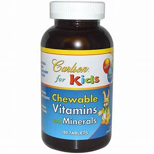 Carlson Labs, For Kids, Chewable Vitamins and Minerals ...