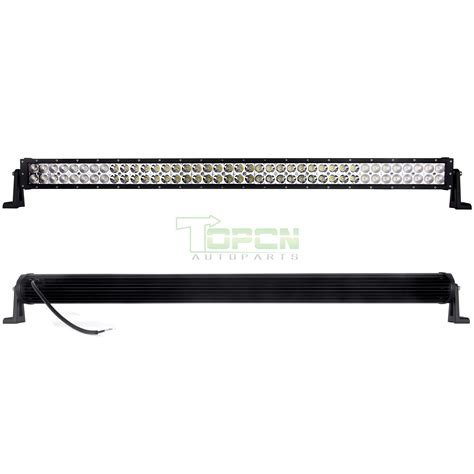 42inch 240w spot flood led work driving light bars offroad