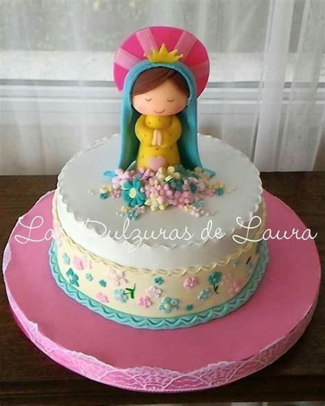 Virgencita Porfis Mis tortas My Cakes Communion
