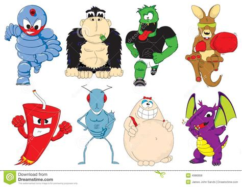 Cartoon Super Heroes Characters