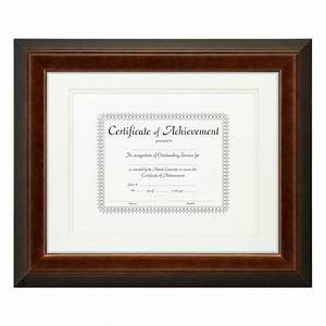 craig frames complete document frame 11x14 1quot silver With document frame with mat