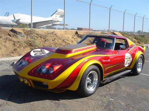 Carl's Jr. 1975 Corvette Looks Delicious - CorvetteForum