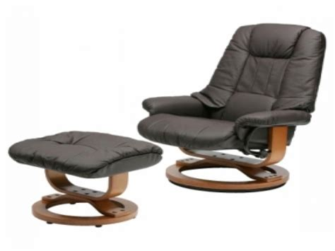 leather chairs with footstool leather swivel rocker