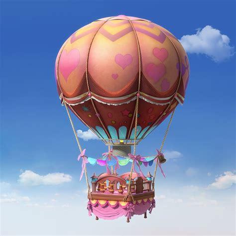 Cartoon Hot Air Balloon 3D | CGTrader