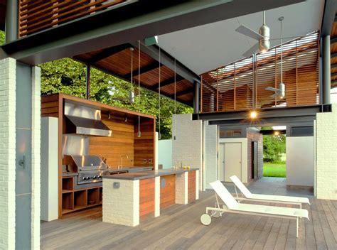 fresh  modern outdoor kitchens