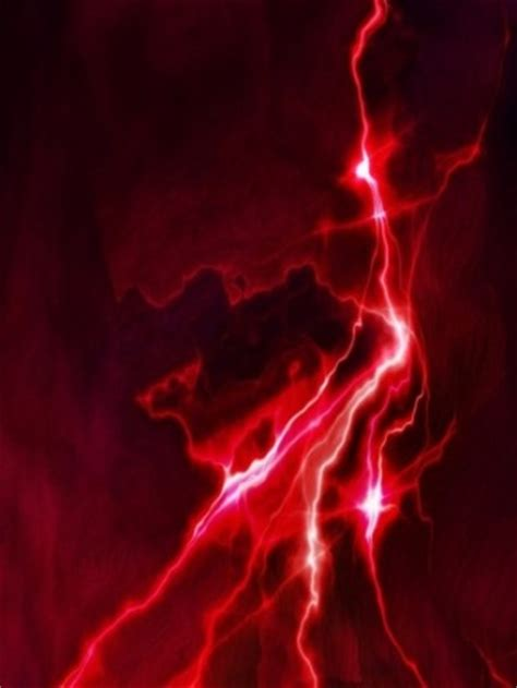 red lightning wallpaper gallery