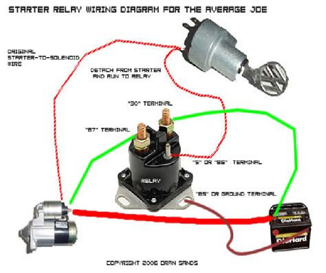 question about wiring a ford remote solenoid to a hi torque starter nastyz28