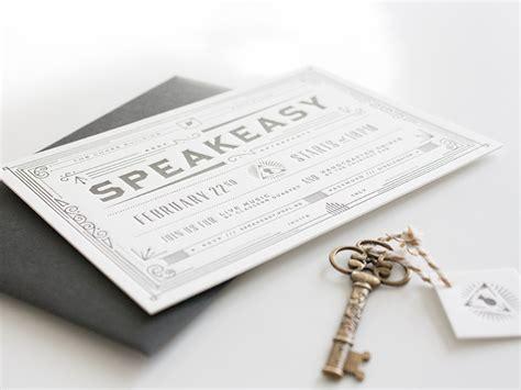 fpo prpl speakeasy invitation