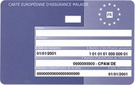 bureau carte assurance maladie european health insurance card