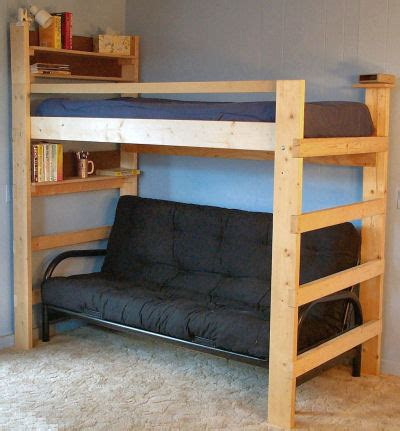 full size loft bed plans bunk beds advantage