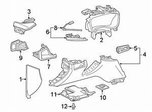 Cadillac Xt5 Instrument Panel Trim Panel  Lower Components