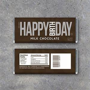 free hershey bar wrapper template happy birthday candy bar wrappers printable instant download