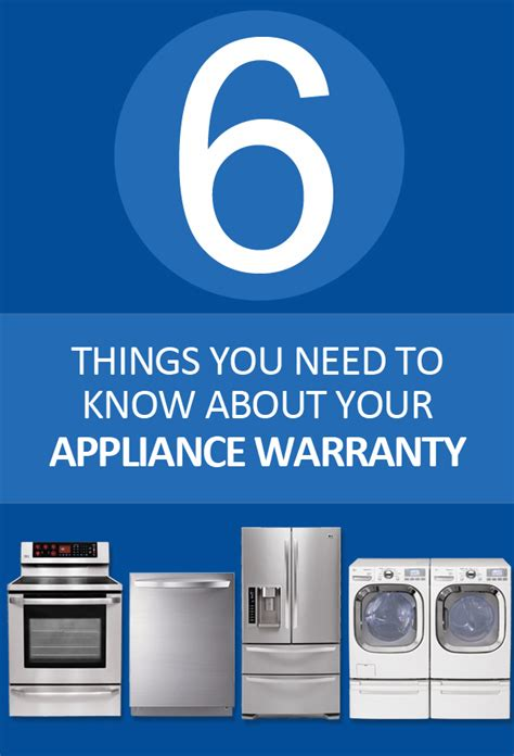 appliance warranty