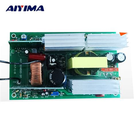 aiyima 1pc invertor pure sine wave inverter circuit 12v to 220v 500w driver board in inverters