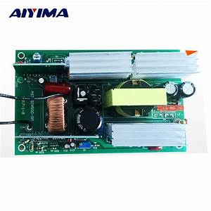 Aiyima 1pc Invertor Pure Sine Wave Inverter Circuit 12v To 220v 500w Driver Board
