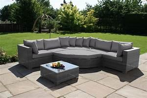 Lounge Set Rattan : barcelona deluxe rattan corner sofa set crownhill ~ Whattoseeinmadrid.com Haus und Dekorationen