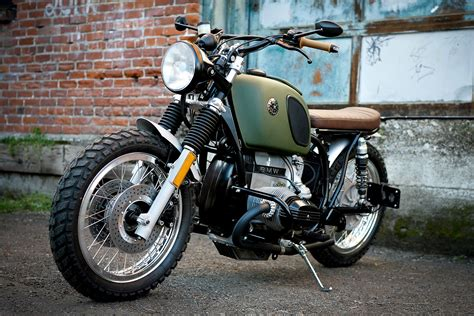 Lost And Found. A Rescued Bmw R80 Urban Scrambler From