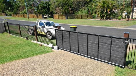 sliding gate opener solar powered solar sliding gate opener kit installed solar powered