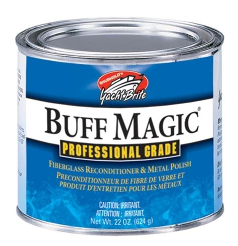 Boat Wax Compound by Shurhold Buff Magic Boat Compound Boat