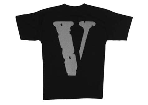 Vlone Og Logo 3m V Tee Black Kickstw