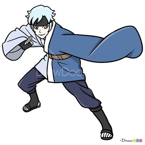 draw mitsuki boruto
