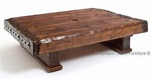 reclaimed barn wood beam coffee table so that39s cool With reclaimed beam coffee table