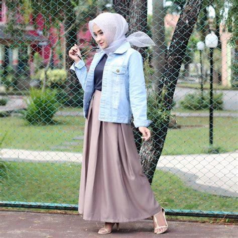 fashion busana muslim 17 trend fashion modis 2018 untuk remaja masa kini