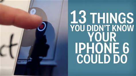 13 iphone 6 tricks